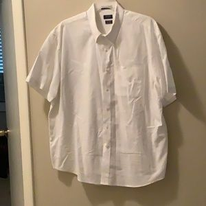 Arrow White Short Sleeve Dress Shirt